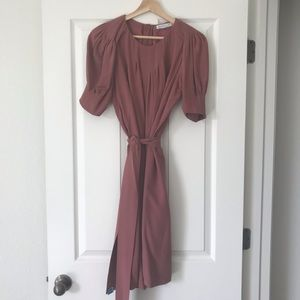 Dusty Rose Silk, See by Chloe Dress